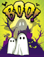 Boo Ghosts Small Card