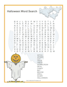 Ghost Word Search