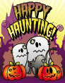 Halloween Happy Haunting Small Card Halloween printables
