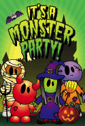 Halloween Monster Party Card Halloween printables