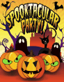 Halloween Spooktacular Party Small Card Halloween printables