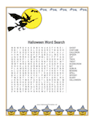 Witch Word Search